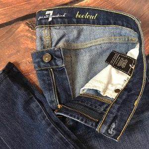 7 For All Mankind Bootcut Women's Jeans Size 27